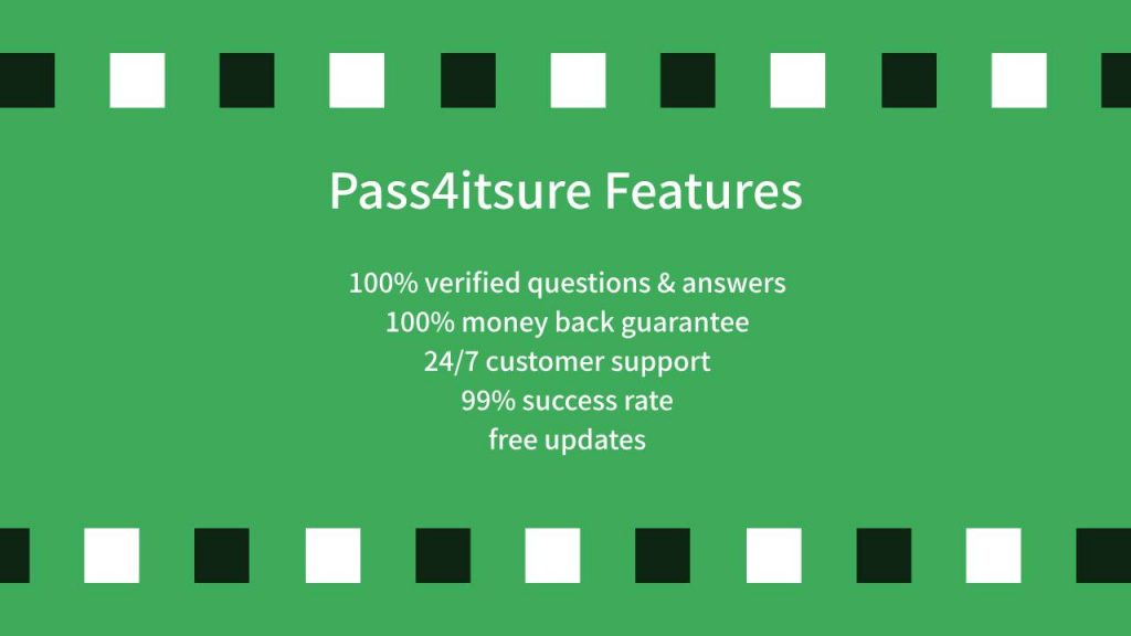 Pass4itsure-Features