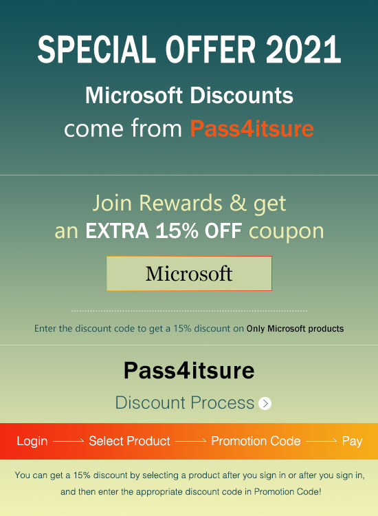 Pass4itsure Microsoft MB-200 exam discount code